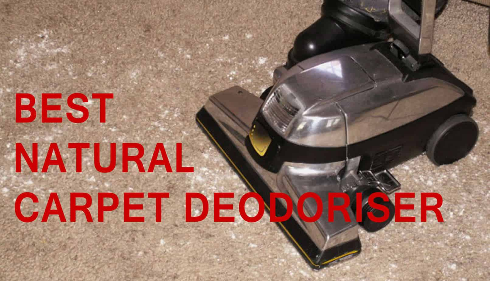 Best Natural Carpet Deodoriser Forget Shake N Vac