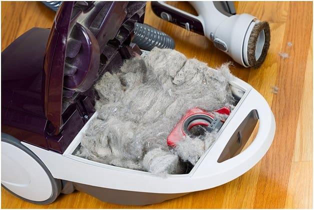 remove blockage in vacuum2