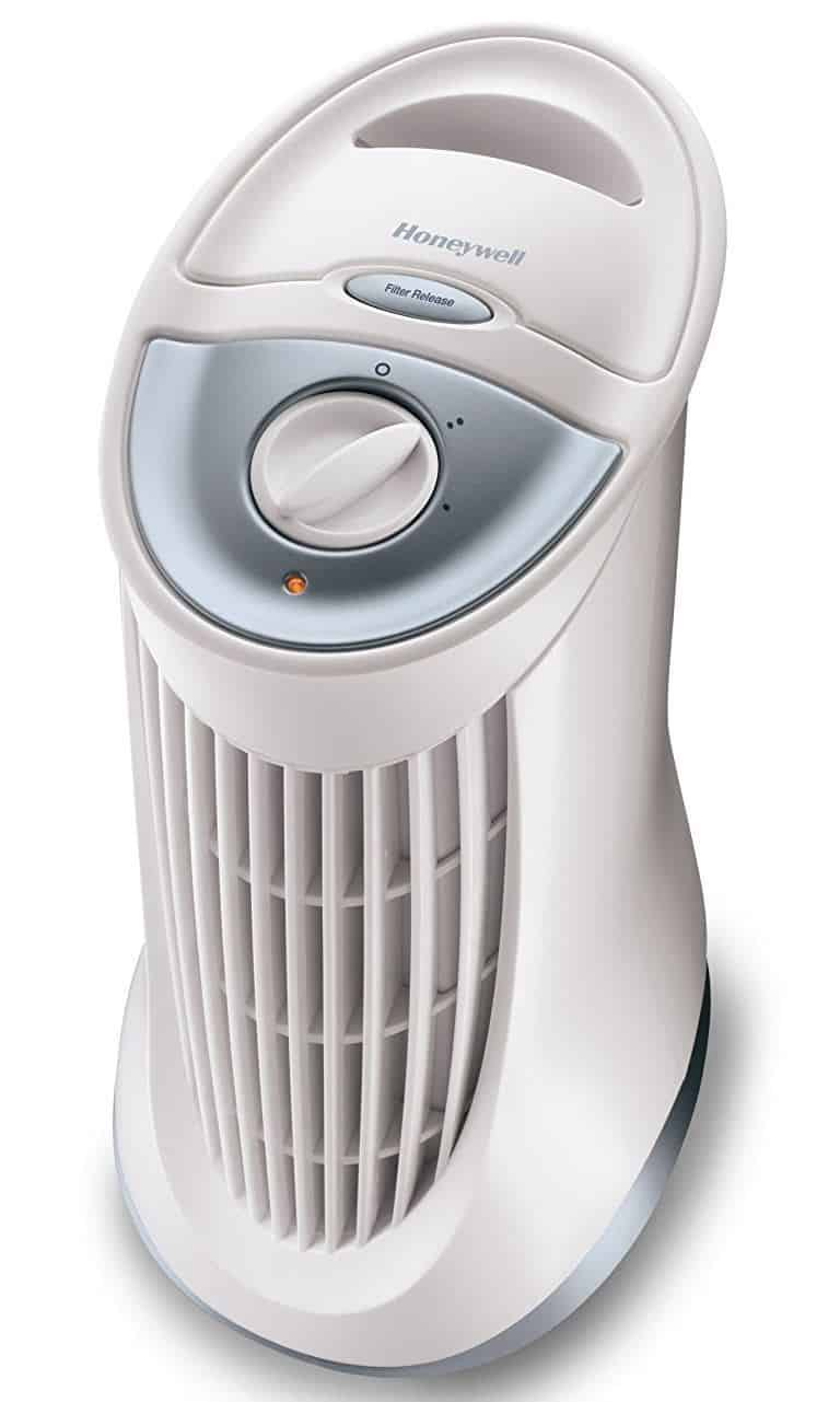Honeywell HA010E1 Mini Tower Air Purifier
