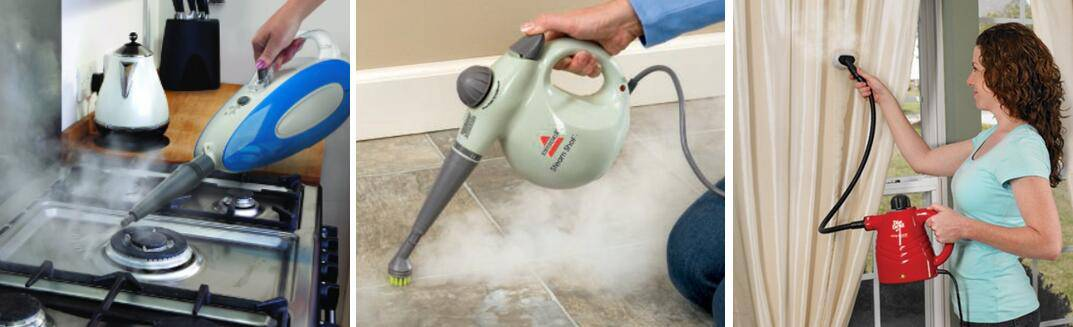 handheld steamer uses