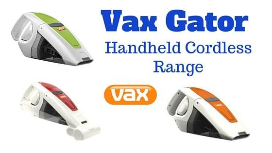 Vax Gator Handheld Cordless Vacuum Cleaners