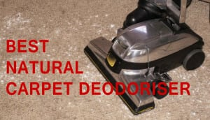 Best natural Carpet Deodoriser