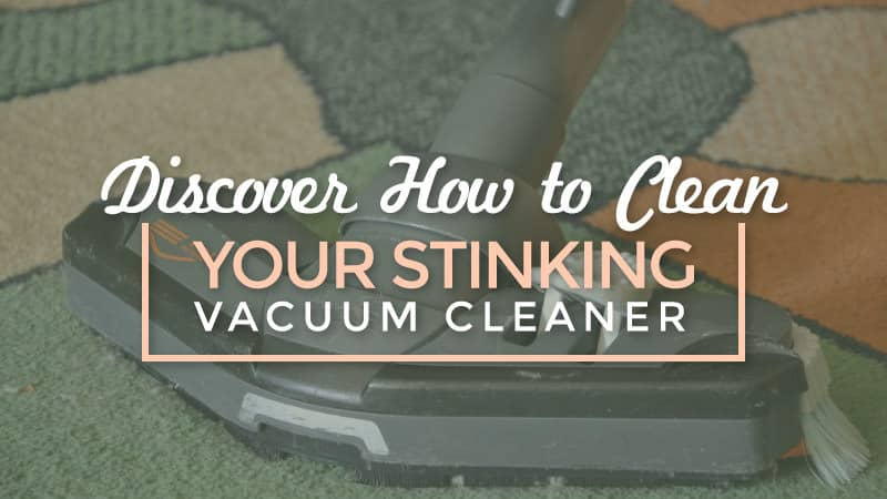 Discover How to Clean your Stinking Vacuum Cleaner - Smart ...