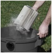 clean vac filter