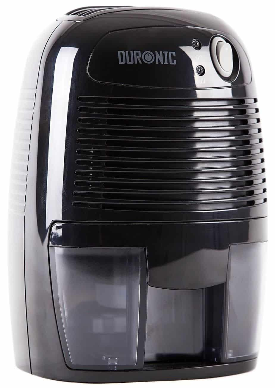 Duronic DH05 Mini Compact Black 500ml Portable Air Dehumidifier