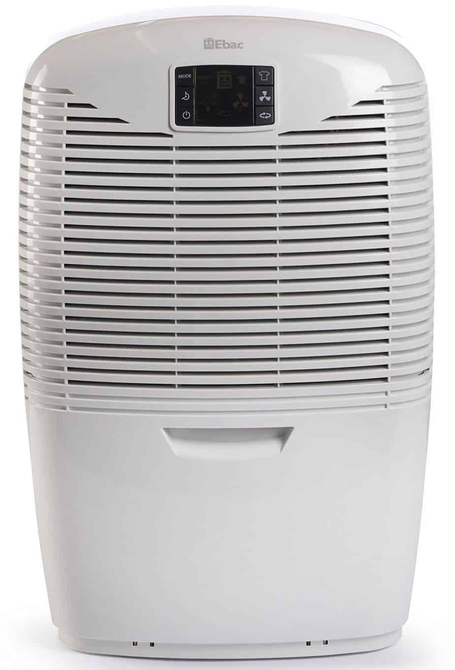 Ebac 3650e Dehumidifier with Smart Control, 18 Litre, White