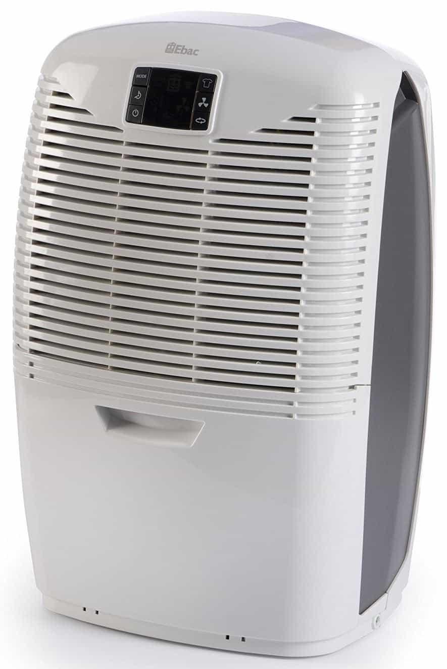 Ebac 3850e Dehumidifier with Smart Control, 21 Litre, White