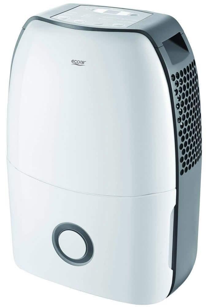 EcoAir DC12 Compact Portable Dehumidifier, 12 L