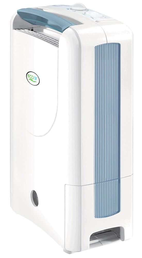 EcoAir DD122 Simple Desiccant Dehumidifier, 7 L - Blue