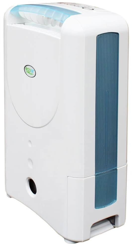 EcoAir DD122FW-MK5 Classic Desiccant Dehumidifier with Ioniser and Silver Filter, 7 L - Blue