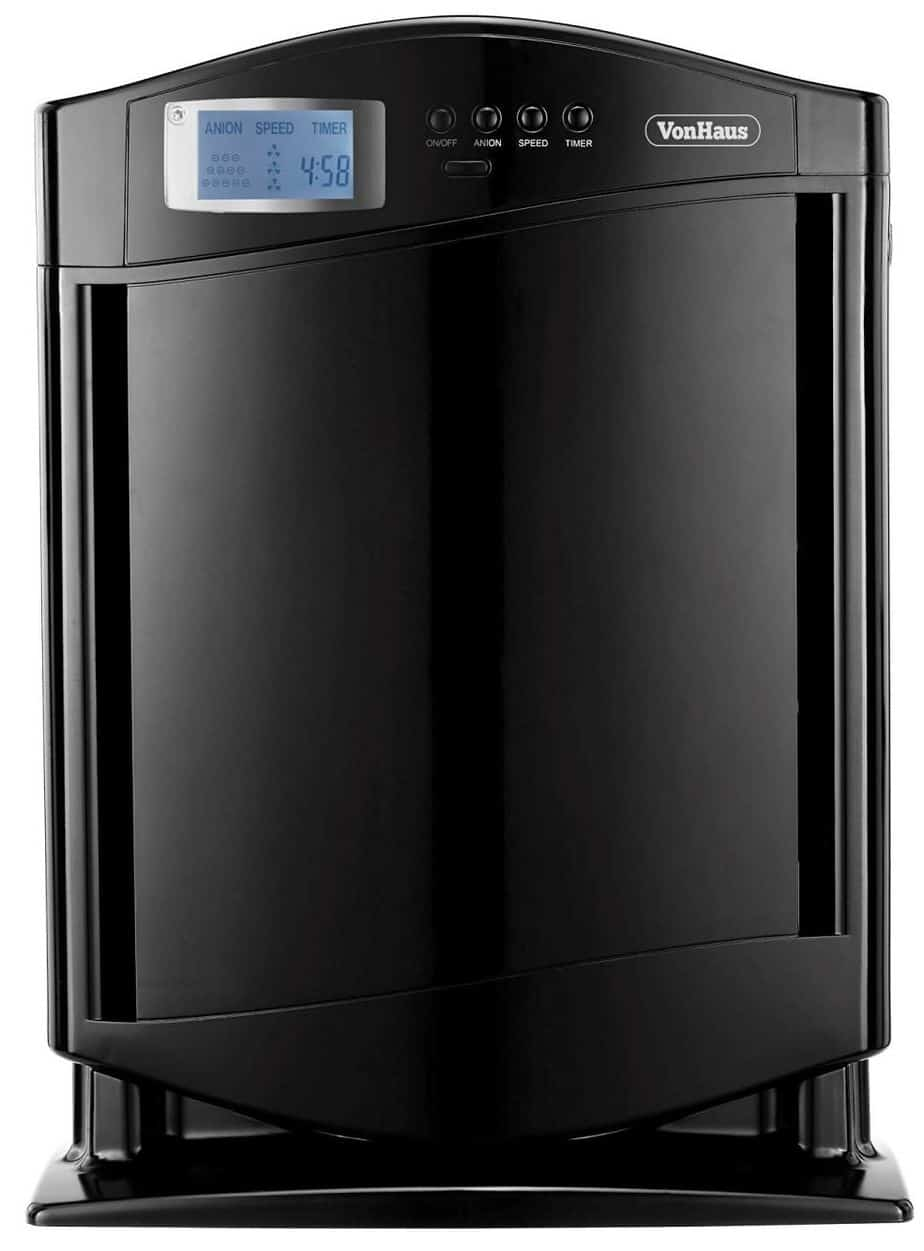 VonHaus True HEPA Air Purifier with Free 2 Year Warranty, Ioniser and Remote Control