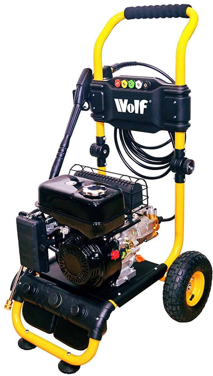 THE BIG ONE Wolf Petrol Pressure Power Washer