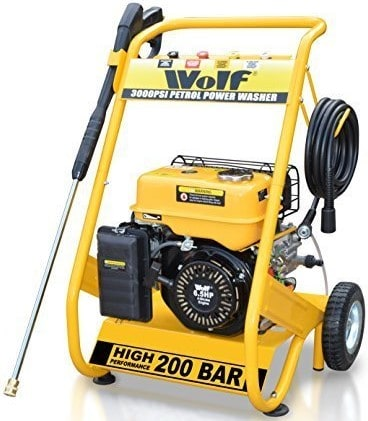 Best Petrol Pressure Washer – Wolf 200 Bar