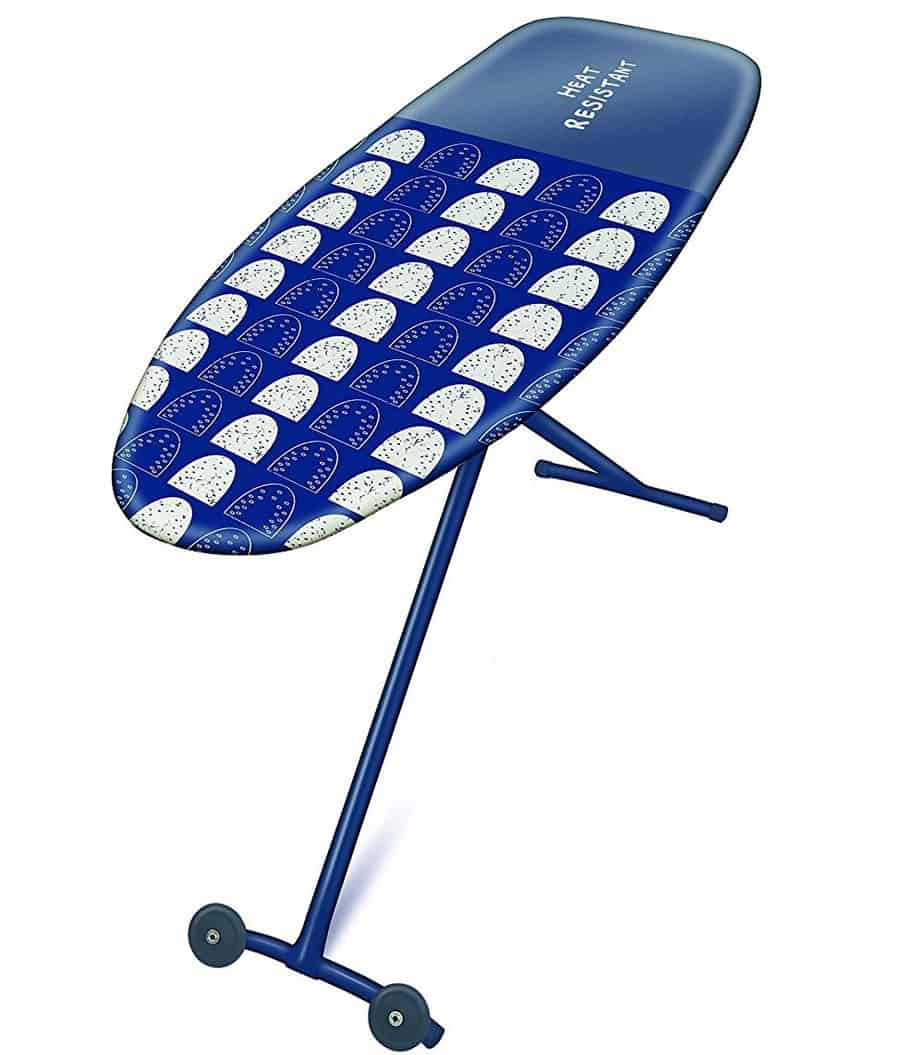 Addis Deluxe Ironing Board Cover, Navy/White, 135 x 46 cm, Single Unit