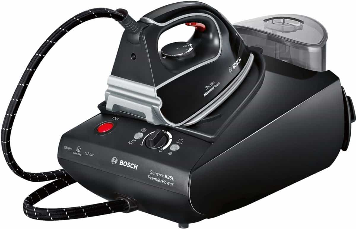 Bosch TDS3562GB Steam Generator Iron, Black