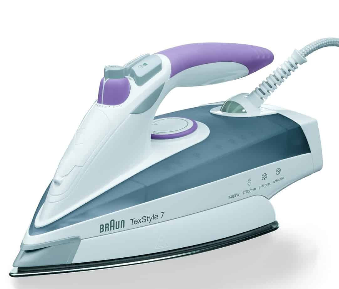 Braun TS755 Iron, 2400 Watt, Grey/Mallow