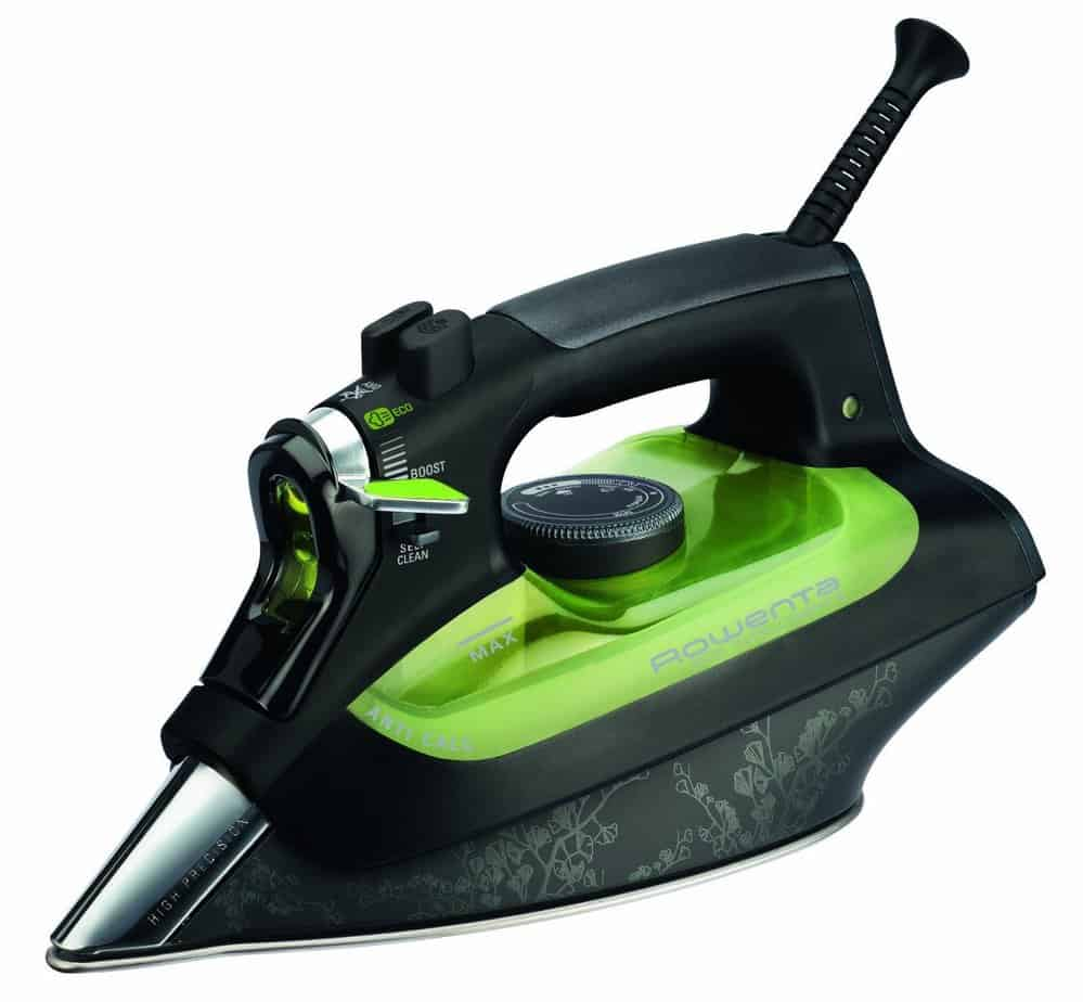 Rowenta DW6010 Eco Intelligence - steam iron - Microsteam 400 sole plate