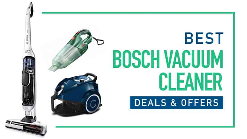 Best Bosch Vacuum Deals And Offers Compare This Weeks