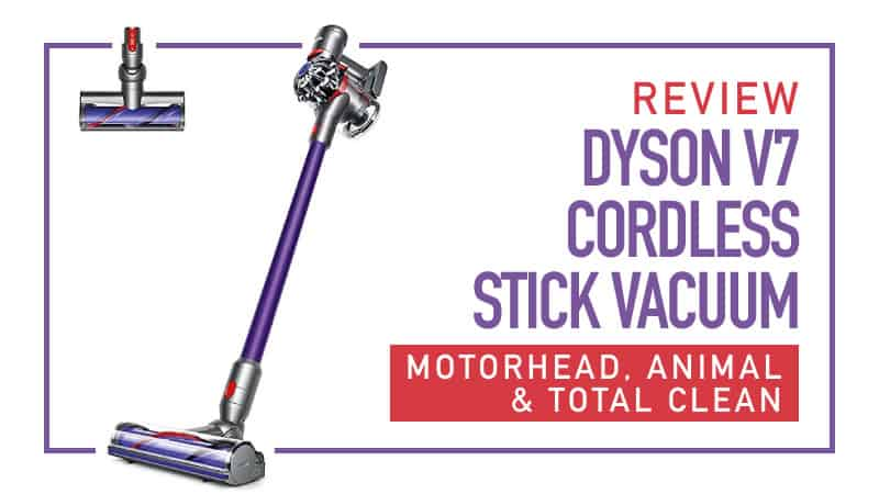 Review Dyson V7 Cordless Stick Motorhead Animal