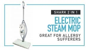 shark 2 in 1 electric steam mop