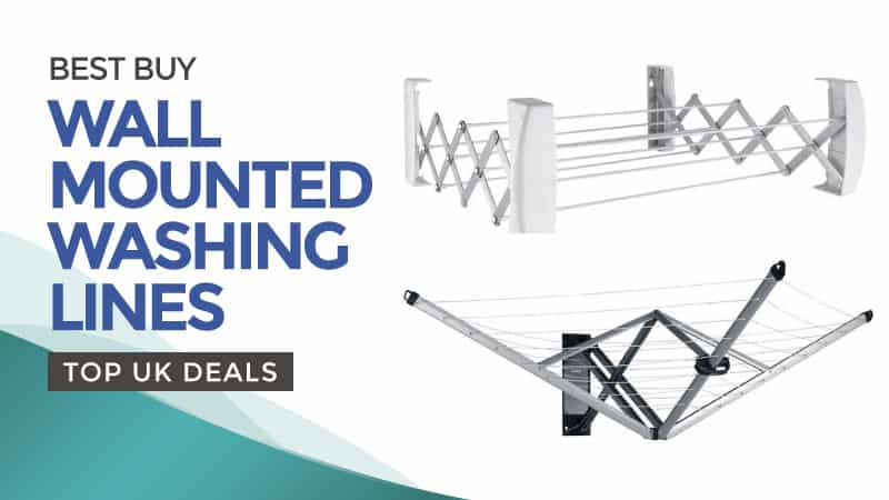 Best Buy Wall Mounted Washing Lines – Top UK Deals