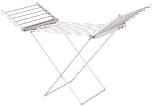 Oypla Lightweight Foldable Heated Airer