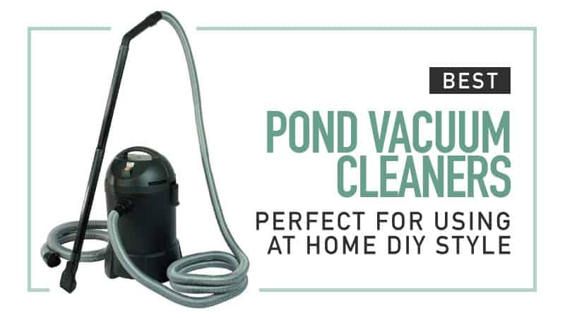 Best Pond Vacuum Cleaners – Perfect for Using at Home DIY Style