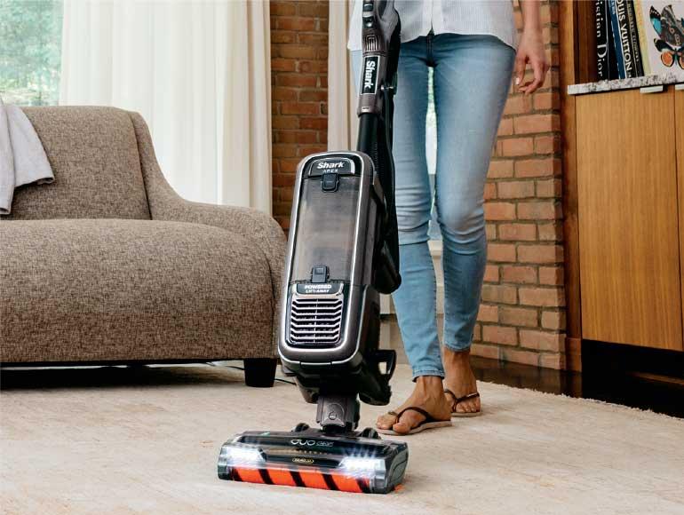 using Shark Vacuum