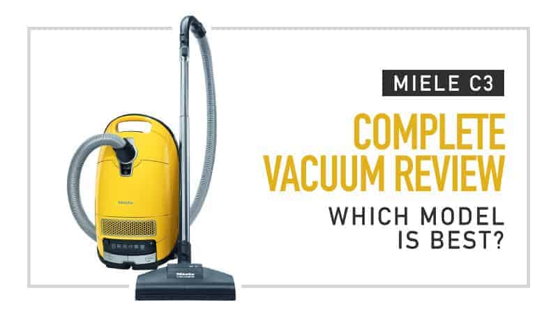 Full Range of Miele C3 Complete Vacuum Cleaners