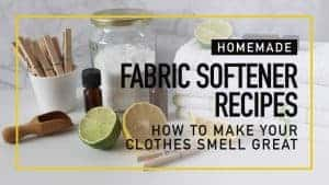 Homemade Fabric Softener Recipes – How to Make Your Clothes Smell Great