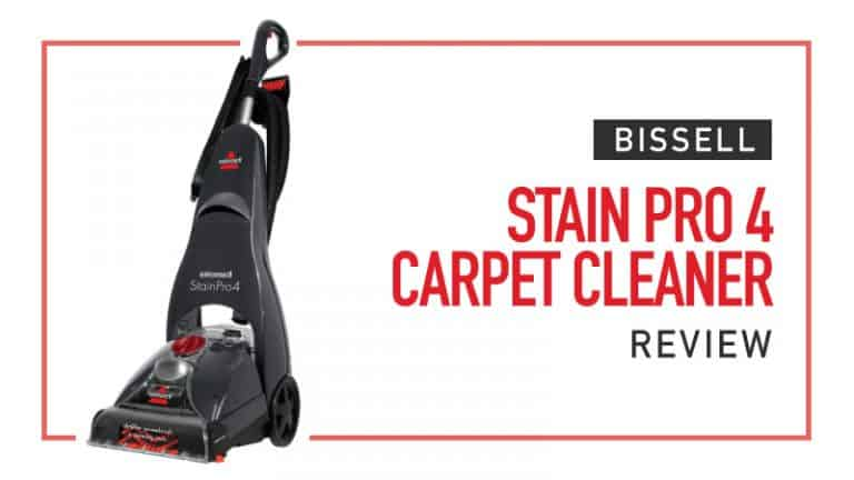 Bissell Stain Pro 4 Review