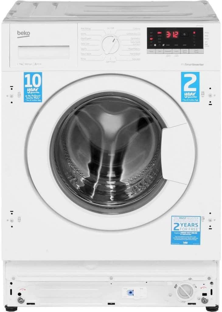 Beko WIR76540F1 Integrated 7Kg Washing Machine