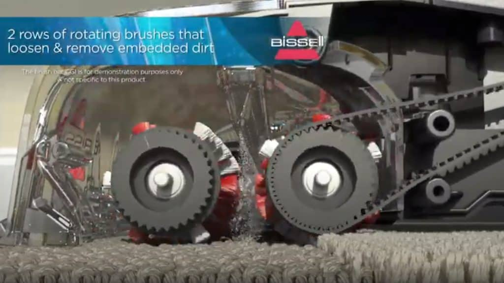 Bissell InstaClean for a larger cleaning path