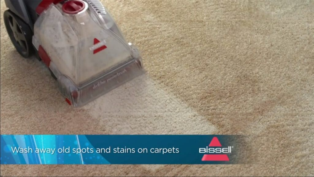 wash away old spots and stains on carpets