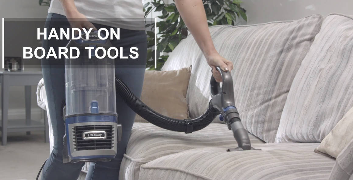 Shark NV601UKT handy on board tool makes it easily accessible