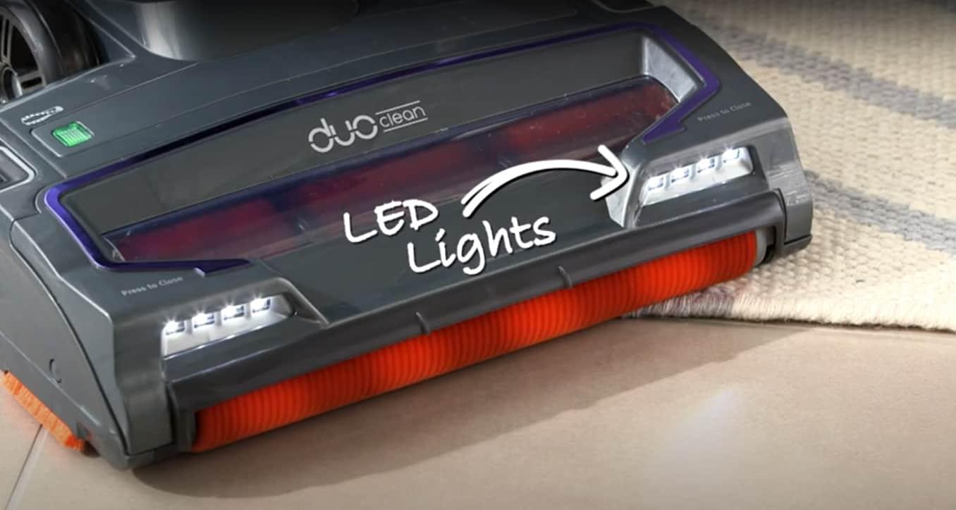 Shark NV700UK T LED lights