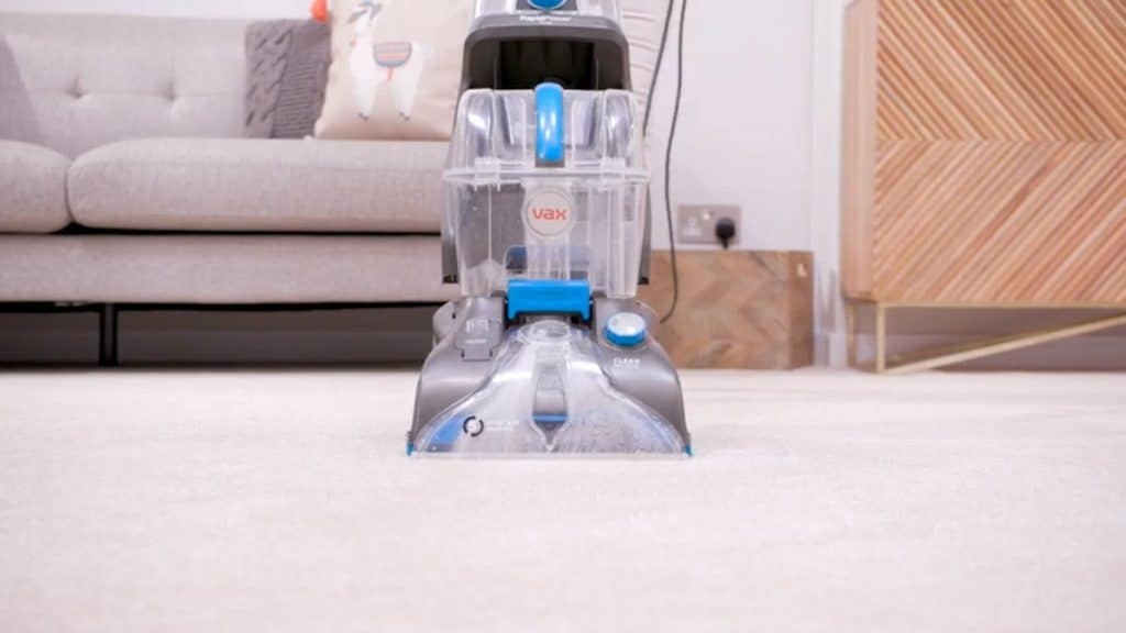 Vax Rapid Power Plus carpet cleaning