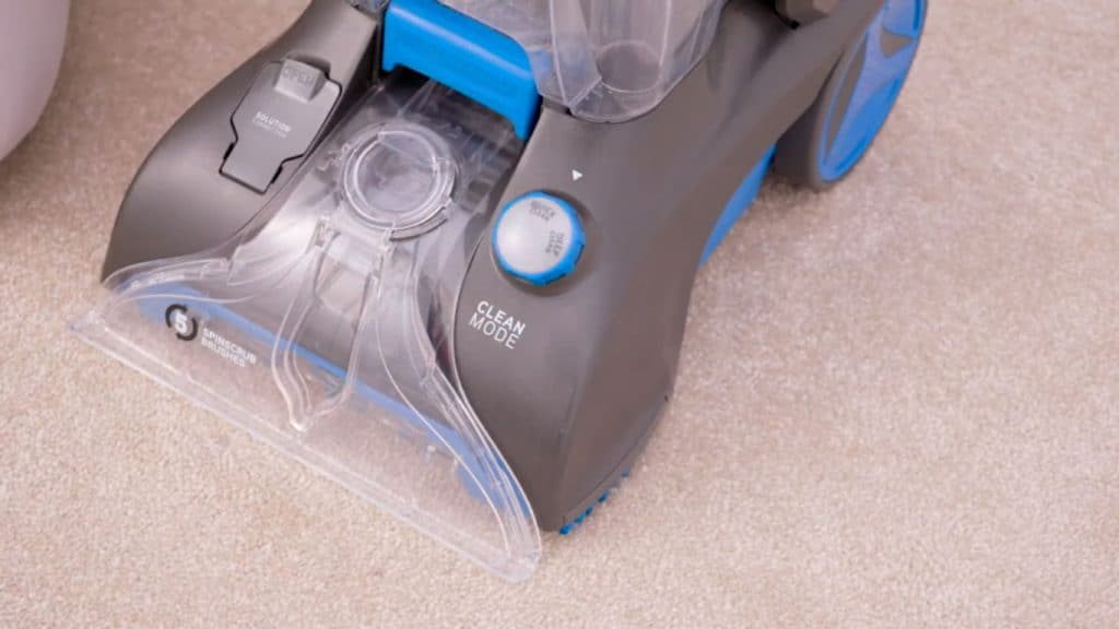 Vax Rapid Power Plus cleaning modes