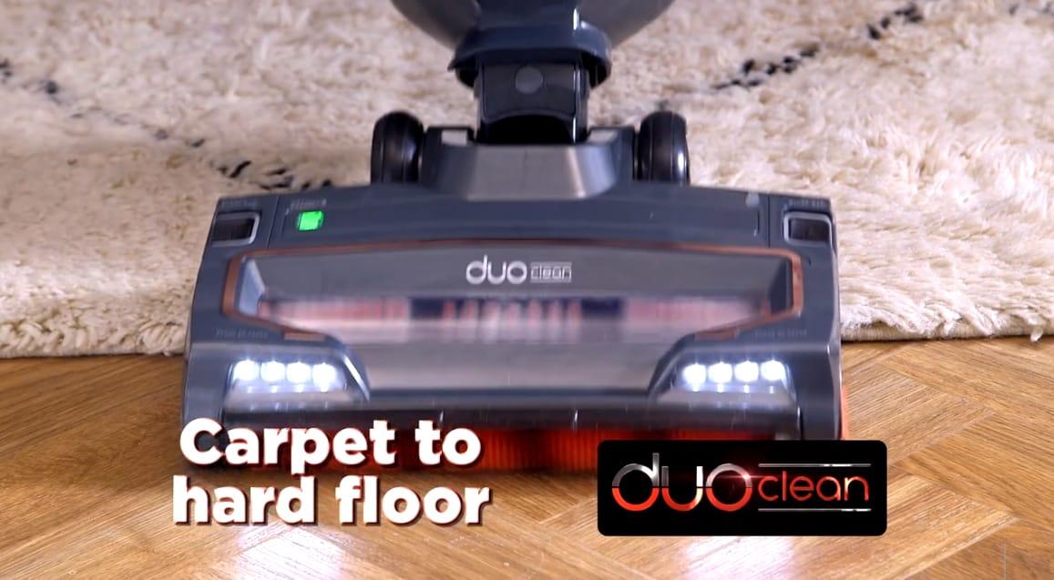 Shark NV700UK T On carpets