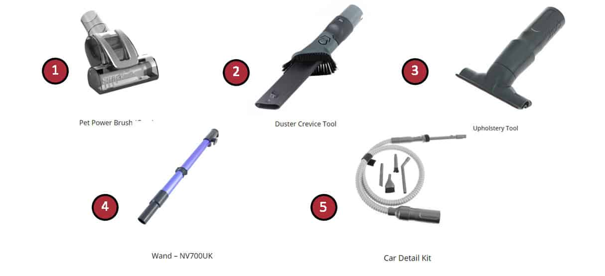 Shark-NV700UK-T- Parts and Accessories