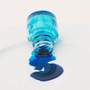 hair dye spill