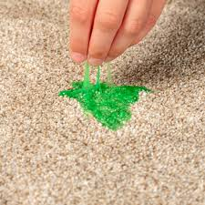 slime out of carpet