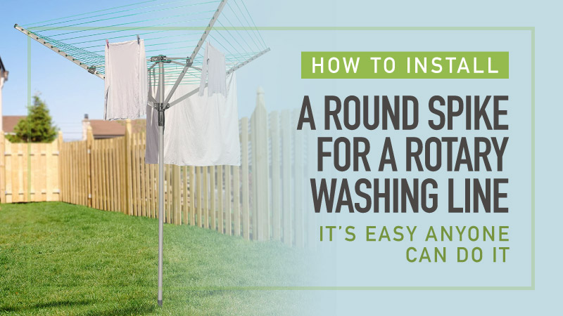 How-To-Install-A-Round-Spike-For-A-